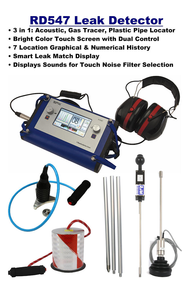 Water Leak Detector Equipment