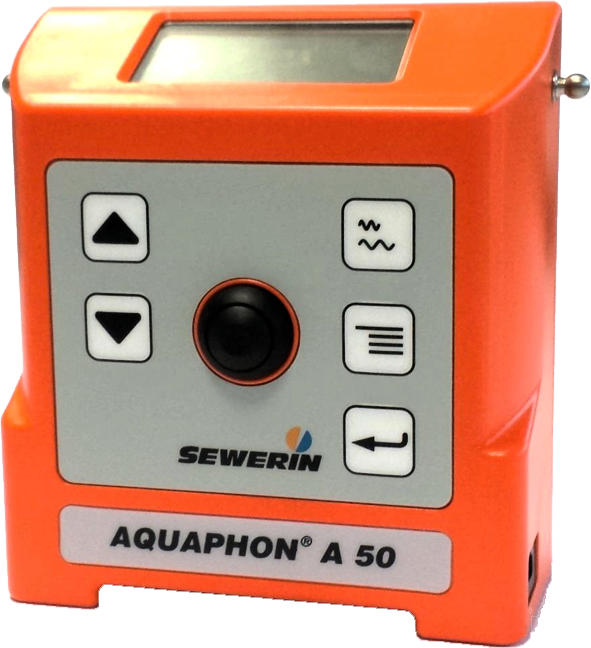 Water Leak Detection Equipment (See 5 Sewerin professional models)