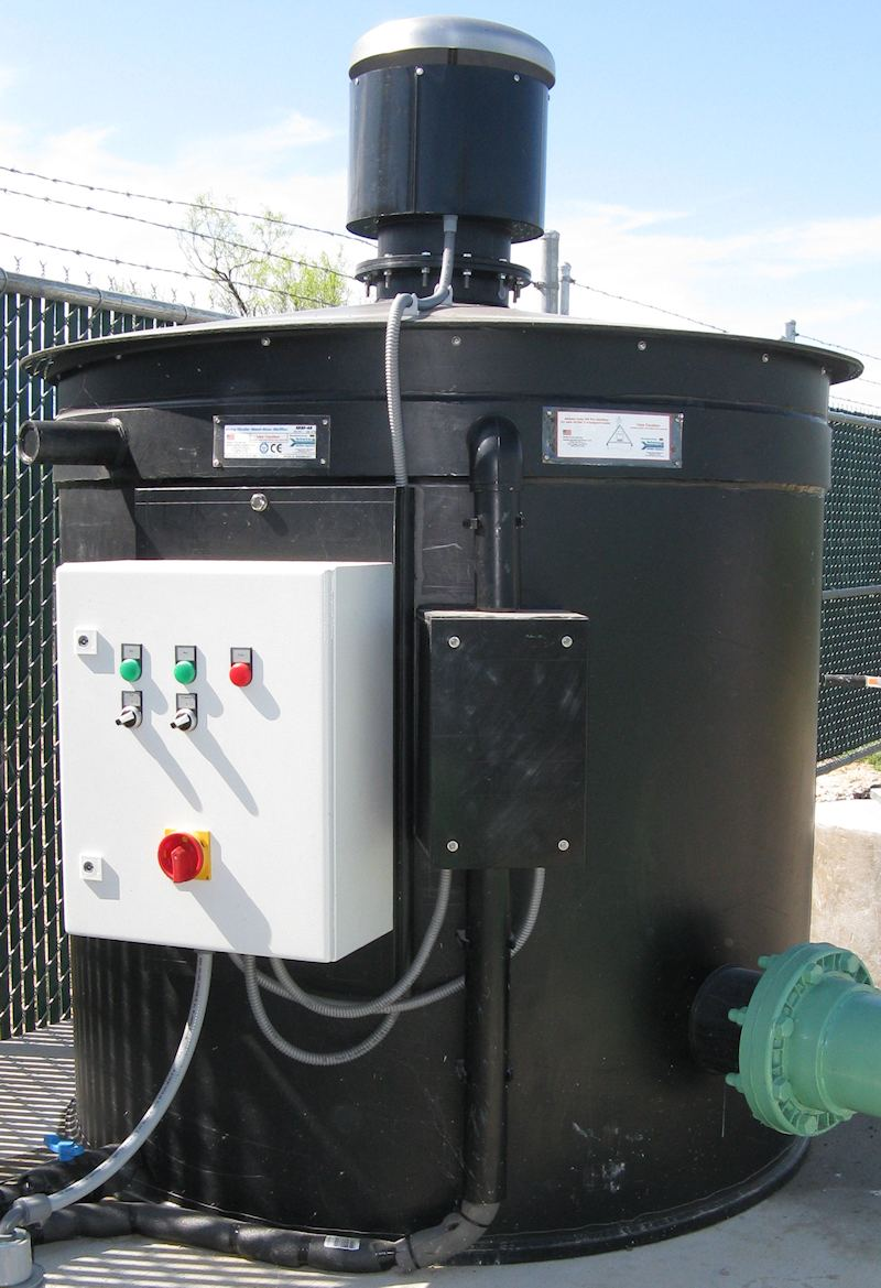 Sewer Lift Station Odor Control Biofilters